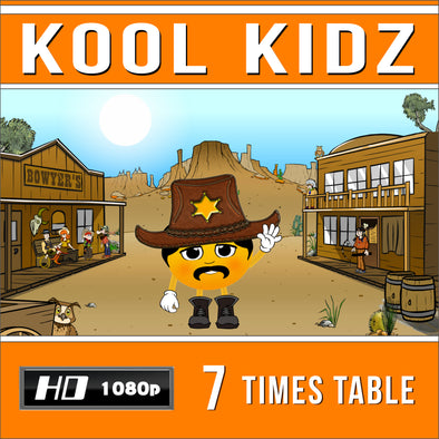 Kool Kidz 7 Times Table Video