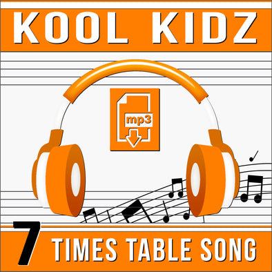 Kool Kidz 7 Times Tables (Audio)