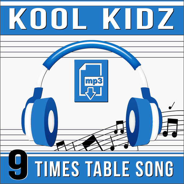 Kool Kidz 9 Times Tables (Audio)