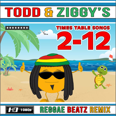 Todd & Ziggy's/2-12 Times Table Videos