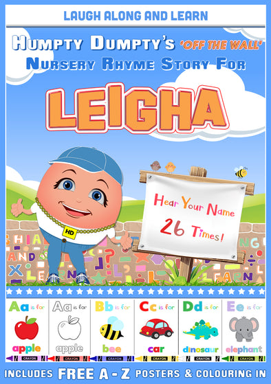 Personalised Nursery Rhyme Story for Leigha
