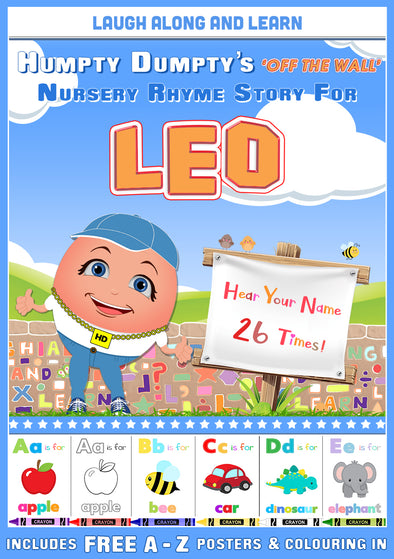 Personalised Nursery Rhyme Story for Leo