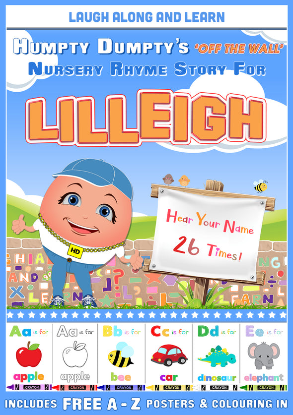 Personalised Nursery Rhyme Story for Lilleigh