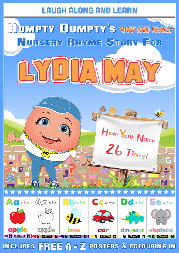 Personalised Nursery Rhyme Story for Lydia May