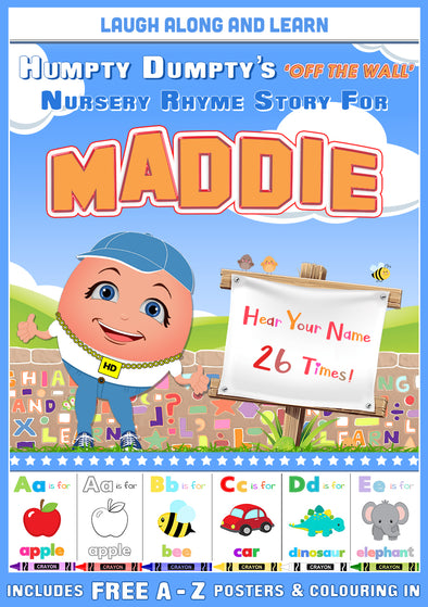 Personalised Nursery Rhyme Story for Maddie