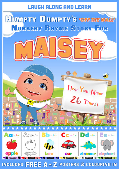Personalised Nursery Rhyme Story for Maisey
