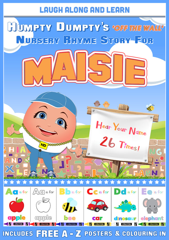 Personalised Nursery Rhyme Story for Maisie