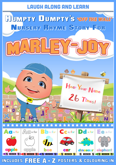 Personalised Nursery Rhyme Story for Marley-Joy