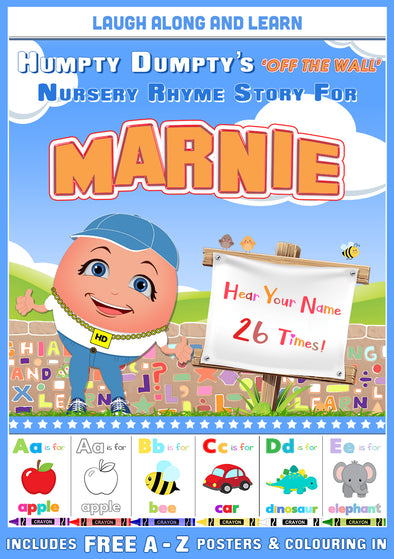 Personalised Nursery Rhyme Story for Marnie