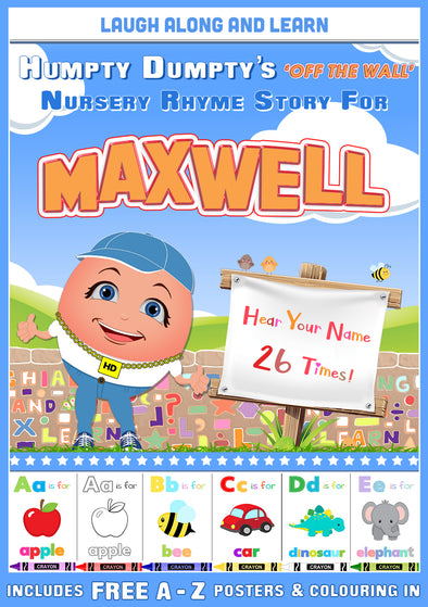 Personalised Nursery Rhyme Story for Maxwell