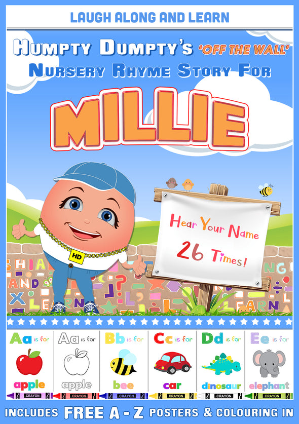 Personalised Nursery Rhyme Story for Millie