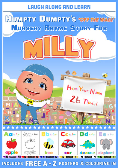 Personalised Nursery Rhyme Story for Milly