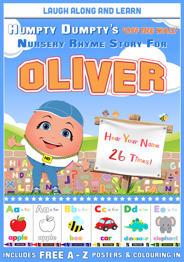 Personalised Nursery Rhyme Story for Oliver