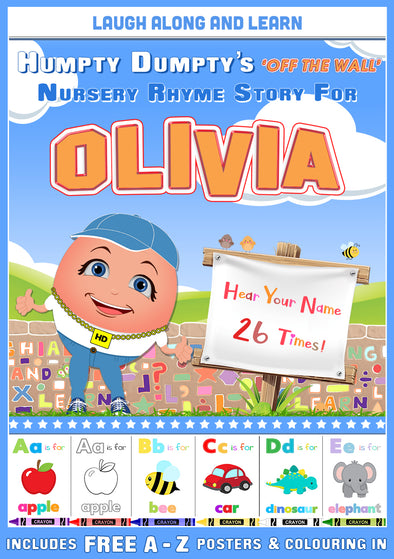 Personalised Nursery Rhyme Story for Olivia
