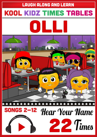 Kool Kidz Personalised for Olli