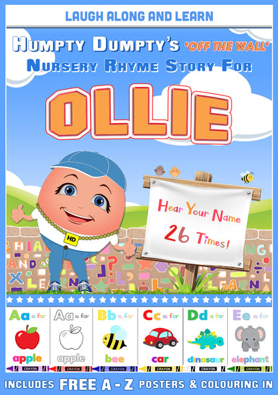 Personalised Nursery Rhyme Story for Ollie