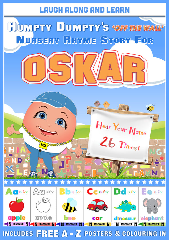 Personalised Nursery Rhyme Story for Oskar