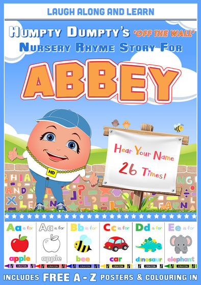 Personalised Nursery Rhyme Story for Abbey