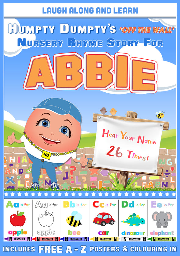 Personalised Nursery Rhyme Story for Abbie