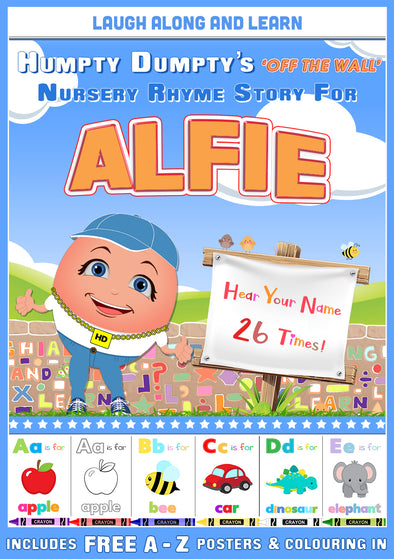 Personalised Nursery Rhyme Story for Alfie