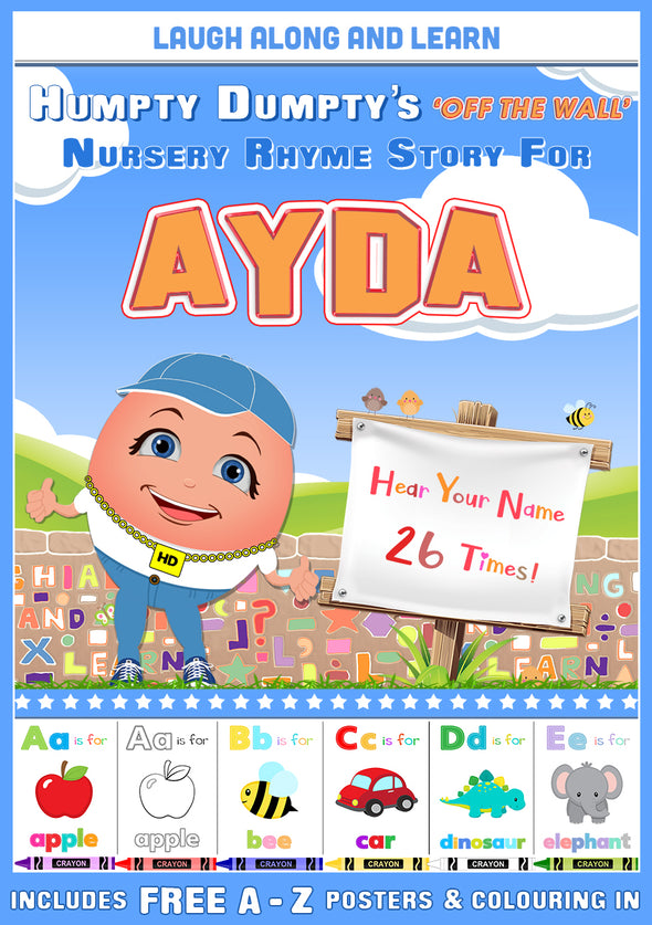Personalised Nursery Rhyme Story for Ayda