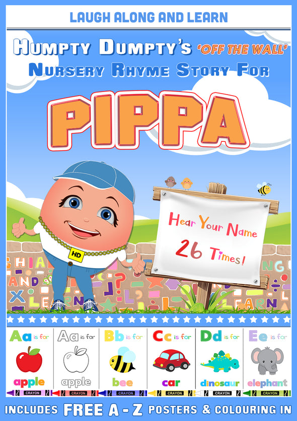 Personalised Nursery Rhyme Story for Pippa