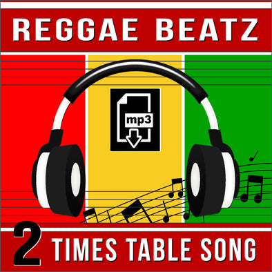 Reggae Beatz 2 Times Tables (Audio)