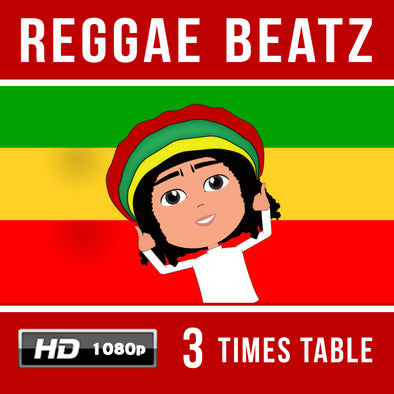 Reggae Beatz 3 Times Table Video