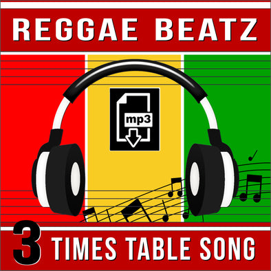 Reggae Beatz 3 Times Tables (Audio)