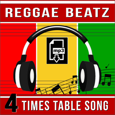 Reggae Beatz 4 Times Tables (Audio)