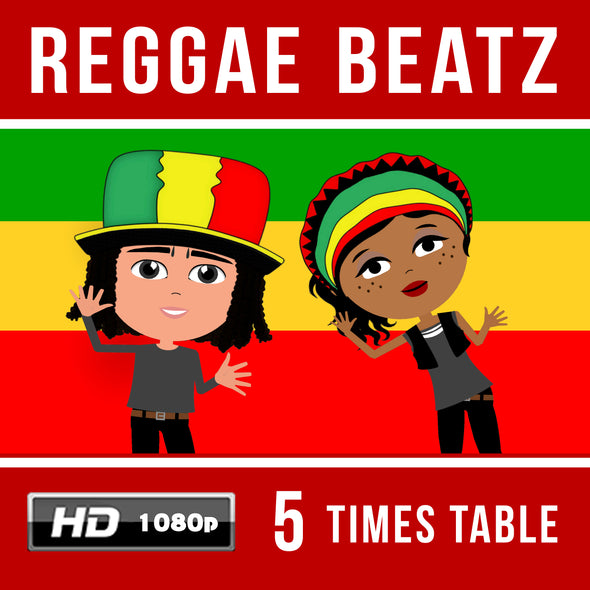 Reggae Beatz 5 Times Table Video