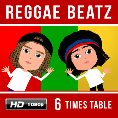 Reggae Beatz 6 Times Table Video