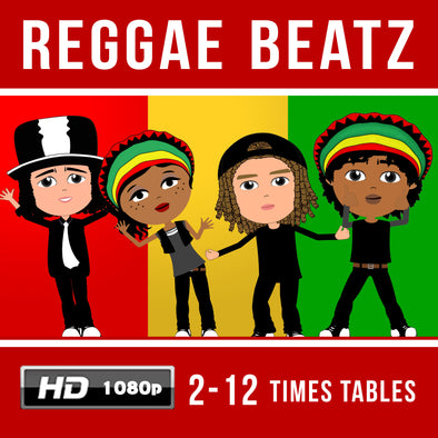 Reggae Beatz-2-12 Times Table Videos