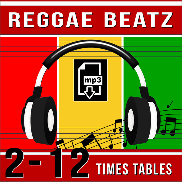 Reggae Beatz-2-12 Times Tables (Audio)