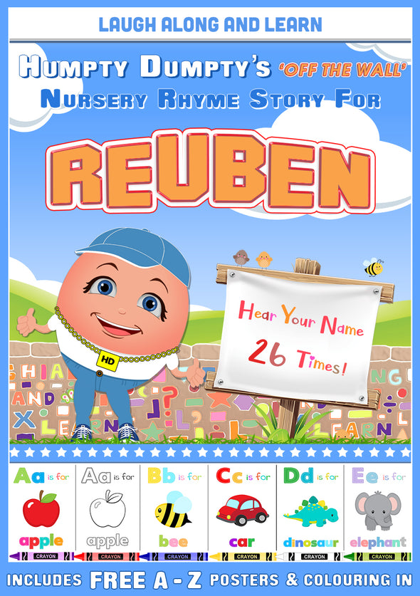 Personalised Nursery Rhyme Story for Reuben