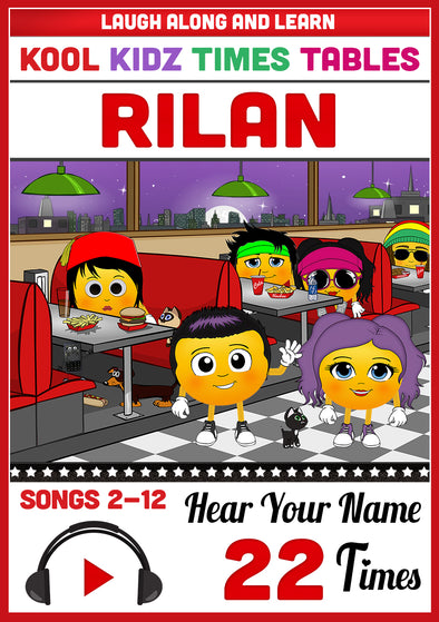 Kool Kidz Personalised for Rilan