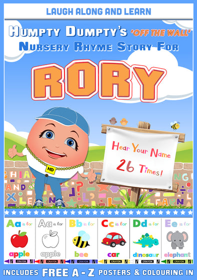 Personalised Nursery Rhyme Story for Rory