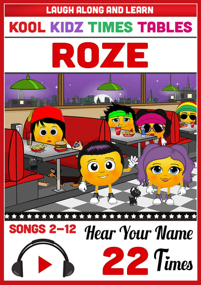 Kool Kidz Personalised for Roze