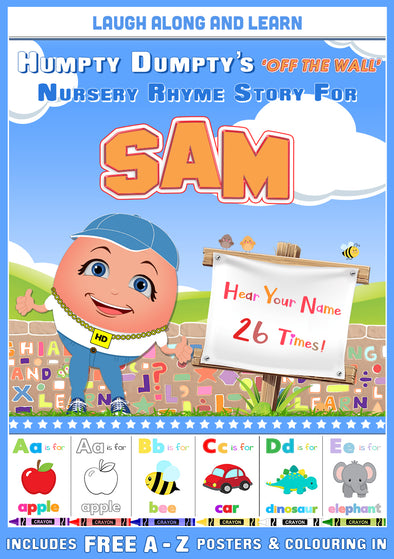 Personalised Nursery Rhyme Story for Sam