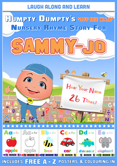 Personalised Nursery Rhyme Story for Sammy-Jo