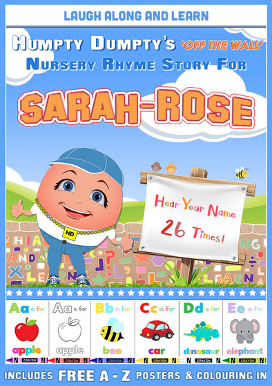Personalised Nursery Rhyme Story for Sarah-Rose