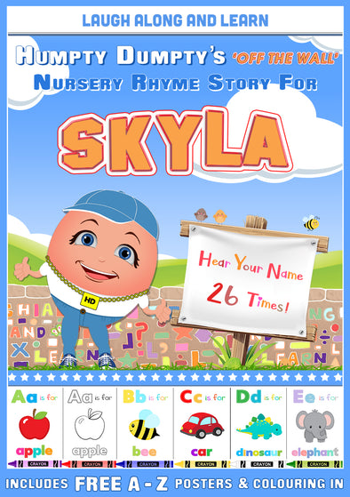 Personalised Nursery Rhyme Story for Skyla