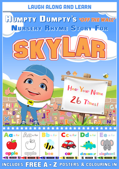 Personalised Nursery Rhyme Story for Skylar
