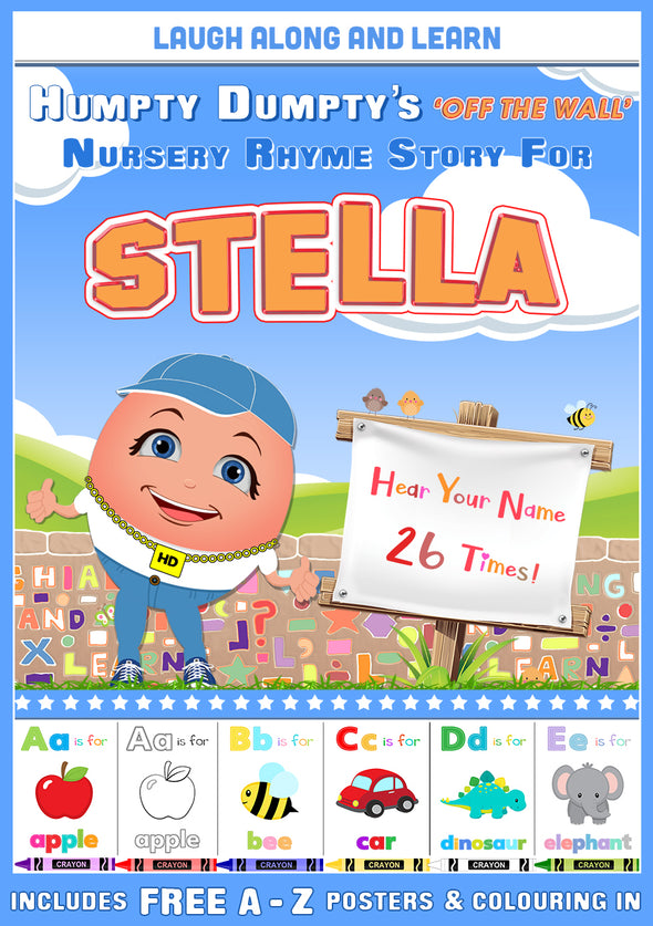 Personalised Nursery Rhyme Story for Stella