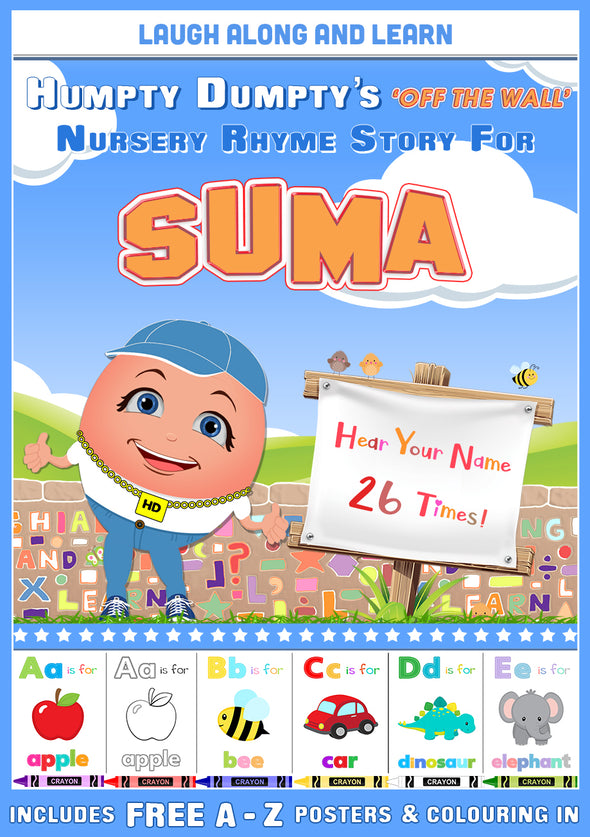 Personalised Nursery Rhyme Story for Suma