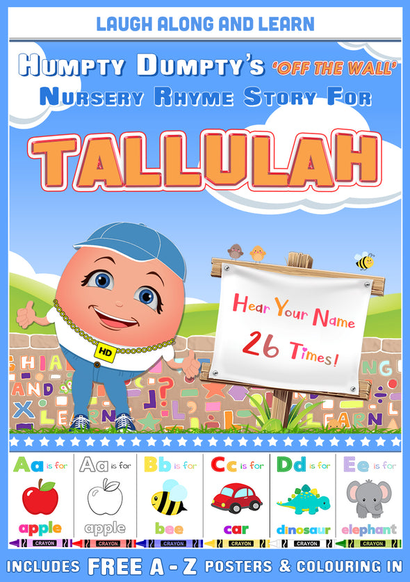 Personalised Nursery Rhyme Story for Tallulah