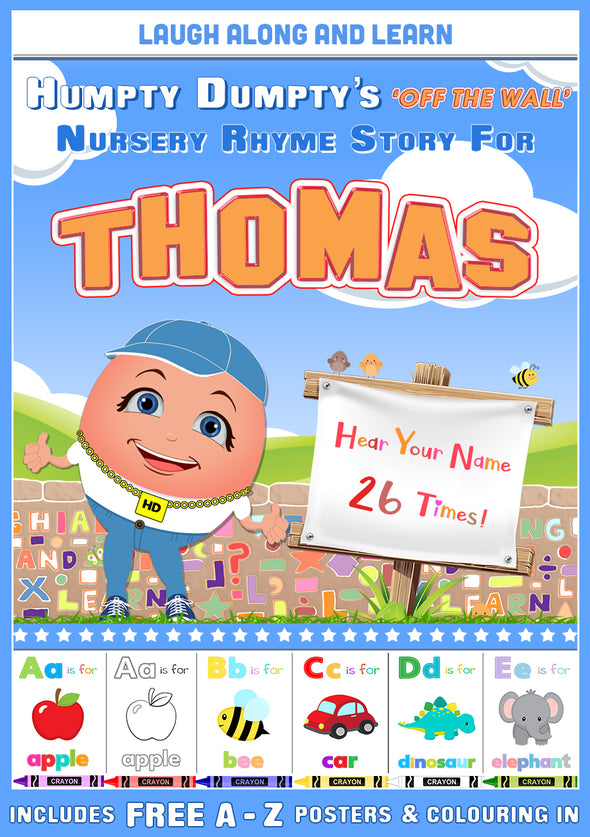 Personalised Nursery Rhyme Story for Thomas