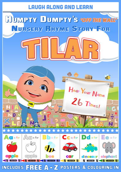 Personalised Nursery Rhyme Story for Tilar