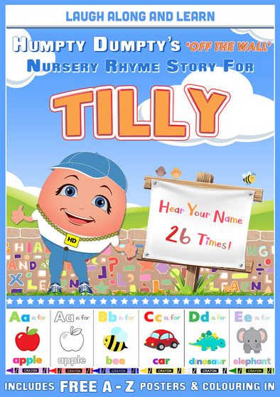 Personalised Nursery Rhyme Story for Tilly