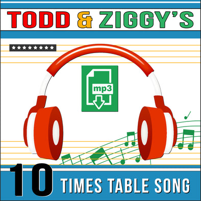 Todd & Ziggy-10 Times Tables (Audio)